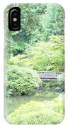 Peaceful Garden Space IPhone Case