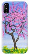 Peach Tree, Painting IPhone Case