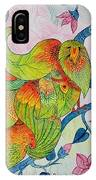 Peacock- Abstract IPhone Case