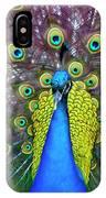 Peacock Art IPhone Case