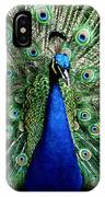 Peacock IPhone Case