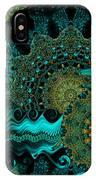 Peacock Fantasia IPhone Case