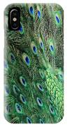 Peacock Feather Pattern IPhone Case