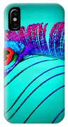 Peacock Feathers 5 IPhone Case