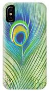 Peacock Feathers-jp3609 IPhone Case