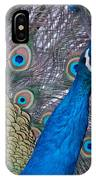 Peacock IPhone X Case
