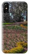 Peacock Garden IPhone Case
