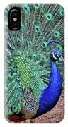Peacock In A Oak Glen Autumn 2 IPhone Case
