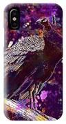 Peacock Lisbon Castle Animal Life  IPhone Case