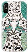 Peacock Love-2 IPhone X Case
