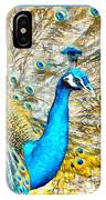 Peacock Paradise IPhone Case
