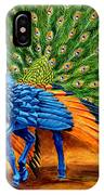 Peacock Pegasus IPhone Case