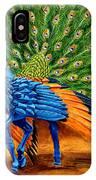 Peacock Pegasus IPhone Case