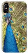Peacock Splendor IPhone Case