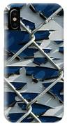 Pealing Paint Fence Abstract 1 IPhone Case