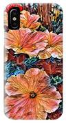 Peanies Flower Blossom IPhone Case