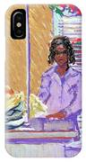 Pearl At The Clothes Press IPhone Case