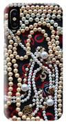 Pearls 3 IPhone Case