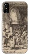 Peasant Settling His Debt IPhone Case