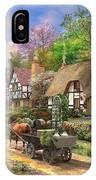 Peasant Village Life IPhone Case