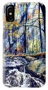 Pebble Creek Autumn IPhone Case