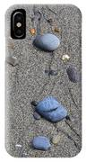 Pebbles Of Blue IPhone Case