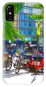 Pedal Taxis 1 IPhone Case