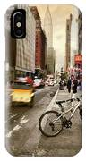 Peddle It Manhattan IPhone Case