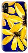 Peekaboo Sunflowers IPhone Case