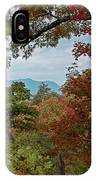 Peeking At The Smokies IPhone Case