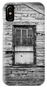 Peeling Wall And Cool Window At Fort Delaware On Film IPhone Case