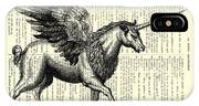 Pegasus Black And White IPhone Case