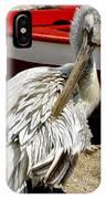 Pelican In Mykonos II IPhone Case