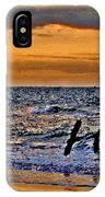 Pelicans Crusing The Coast IPhone Case