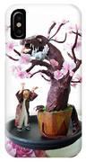 Pen-jing Dragon Plum Tree IPhone Case