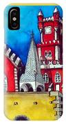 Pena Palace In Portugal IPhone Case