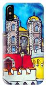 Pena Palace In Sintra Portugal  IPhone Case