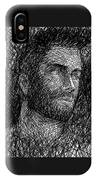 Pencilportrait 04 IPhone X Case