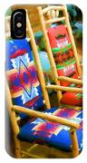 Pendleton Chairs IPhone Case