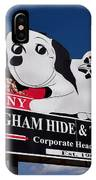 Penny Dog Food Sign 1 IPhone Case