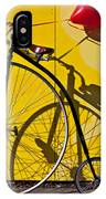 Penny Farthing Love IPhone Case