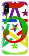 Penta Pentacle White IPhone Case