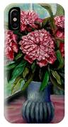 Peonies Flowers Original Painting IPhone Case