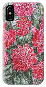 Peonies Love IPhone Case