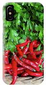 Peppers In A Basket IPhone X Case