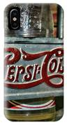 Pepsi Double Dot Metal Carrier  IPhone Case