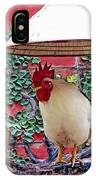 Perched Rooster IPhone Case