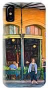 Pere Antoine Restaurant - Paint IPhone Case