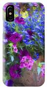 Perennial Flowers Y2 IPhone Case