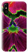 Perfectly Pansy 01 - Photopower IPhone Case